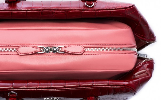 Prada Inside Bag Red
