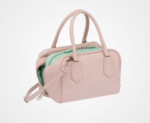 Prada Inside Bag Pastel Acquamarine