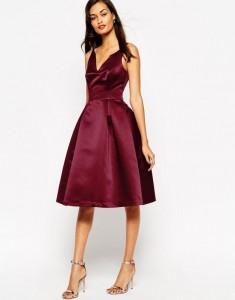 abito rosso - atelier del ricamo